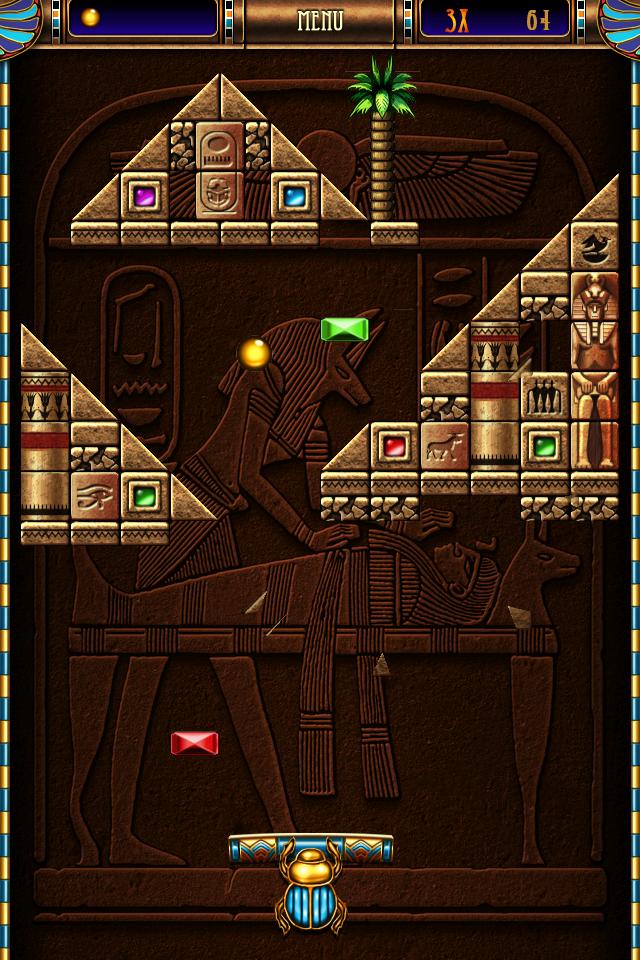【打砖块类】金字塔打砖块重制版